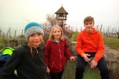Die Kinder der Familie Scholze in Meersburg