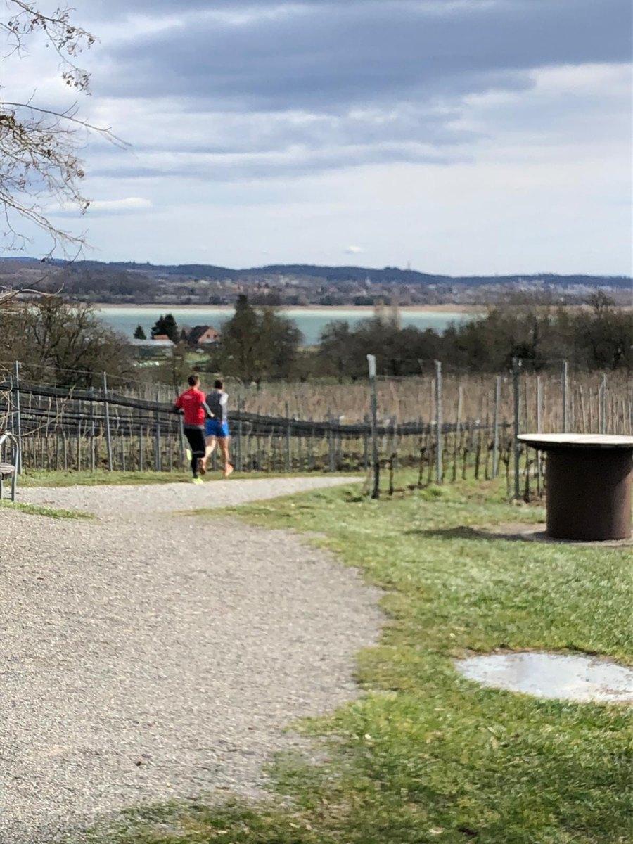 Stephan Okle und Fabian Greiß auf der Reichenau